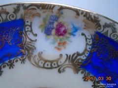 Altwien-kézzel festett-aranymintás kistányér-11,2 cm(2)