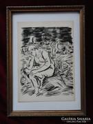 Frans Masereel(1889-1972): Gyötrelem