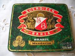Antik cigarettapapír doboz eladó!