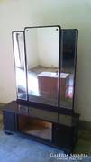 Art Deco Nagyméretű Tükrös szekrény