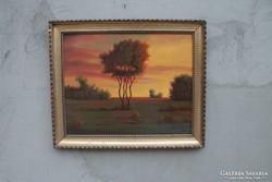 K. Spányi Béla: Magányos fa