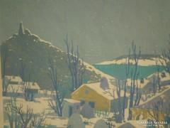 Török Endre (1926-1980) : Szigliget
