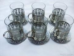 6 db régi jénai pohár