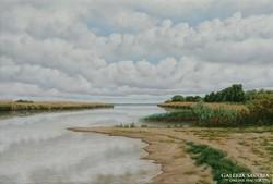 Lamoling Csendes folyópart