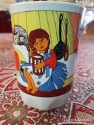 Zsolnay Mesefiguras hamipipokes pohar