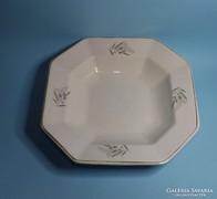 Antik Gránit köretes tál ,tányér