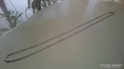 Gyönyörű hosszú ezüst nyaklánc 925.  76.7 cm
