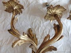 2 db álomszép antik falikar