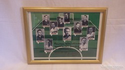 Buzánszky Jenő focis emlék tabló