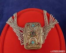 1867-es antik ezüst nyakék