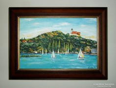 Balaton -Tihany festményvásár