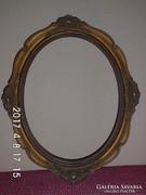 Antik,ovális képkeret 28x36 cm