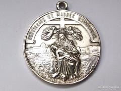 Régi Spanyol vallási medál, Katolikus Anyák Szervezete.