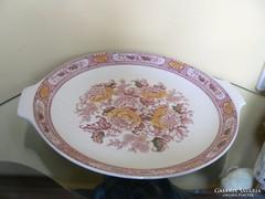 Angol porcelán tál, tányér