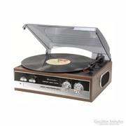 Retro rádiós lemezjátszó