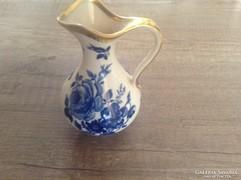 Echt kobalt Bavaria porcelán kiöntő
