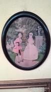 Akvarell, romantikus jelenettel II.
