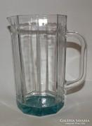 Retro szögletes üveg kancsó
