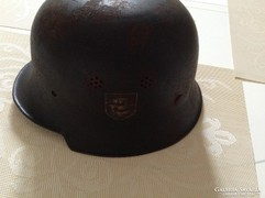 Il.világháborús német rendőrségi sisak