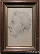 Neogrády László(1896-1962)Önarckép