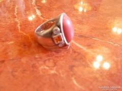 Art deco ezüst női gyűrű