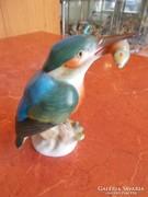 Jégmadár! Gyönyörű Herendi porcelán szobor. 1.oszt