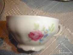 Vadrózsás seltmann kávés csésze