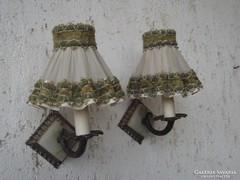 Régi szép fali kar lámpa