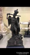 Szent Mihály Arkangyal bronz szobor