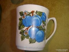 Régi teás   csésze 2 dl  szilvás