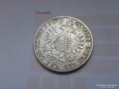 1873 ezüst 1 Florin,ritkább