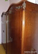 Szecessziós meggyfa hálószoba komplett