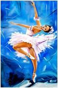 Sztopka Anna--BALERÍNA--balett--életkép
