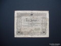 Kossuth bankó 10 forint 1848