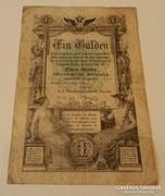 1 Gulden 1868/1