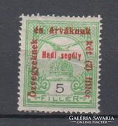 1915 Hadisegély II. 5 Fillér falcosan (A091)