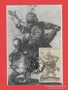 Carte Maximum - Albrecht Dürer blokk - 1979 (136)