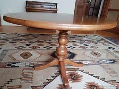 Rusztikus asztal, dohányzóasztal