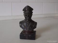 Eredeti,világháborús Rommel bronz szobor!