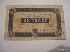 1 Francs 1918 Nancy