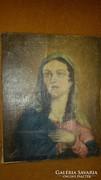 Vastagh György eredeti festmėny 26x32 cm 1852 -es ėvböl.....