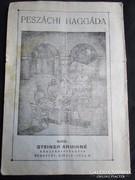 PESZÁCHI HAGADA 1938 JUDAIKA JUDAICA ZSIDÓ ÜNNEP LEÍRÁSA
