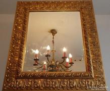 Kecses Különleges Rococo stílusú fali tükör