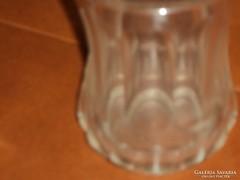 Hámozott üveg váza eladó !