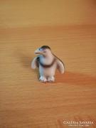 Hibátlan, hollóházi mini porcelán pingvin