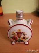 Zsolnay porcelán kulacs és kerámia korsó eladó