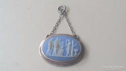 Wedgwood porcelán kis medalion