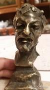 Márványtalpon bronz szobor régi