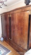 Antik hálószoba szekrény (2db) és öltözőasztal egyben eladó