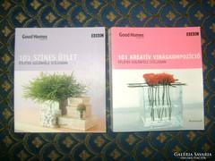 Két darab könyv kreatív ötletekkel